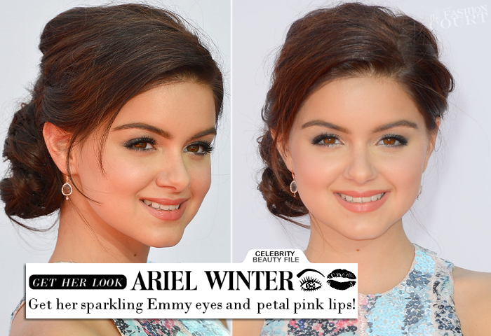 Emmy Beauty: Ariel Winter's Sparkling Eyes & Pretty Petal Pink Lips!