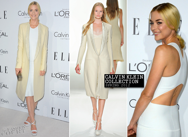 Jaime King in Calvin Klein | ELLE's 19th Annual Women In Hollywood Celebration