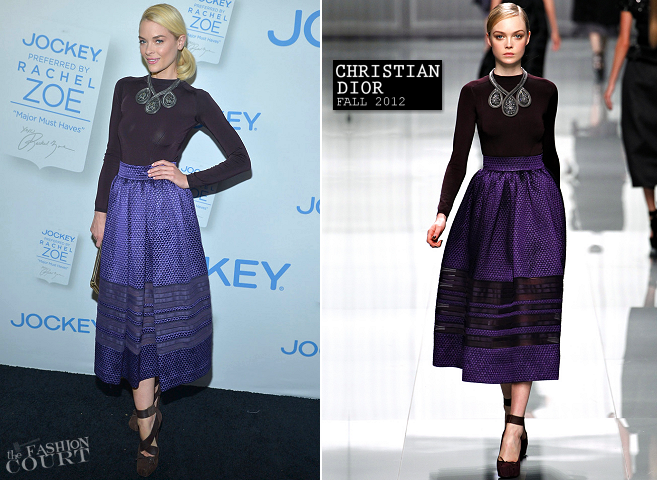 Jaime King in Christian Dior | Rachel Zoe's 'Major Must Haves' From Jockey Event