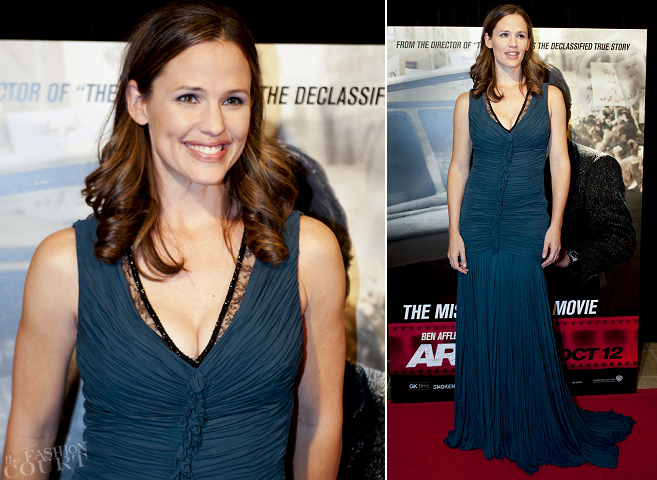 Jennifer Garner in Roberto Cavalli | 'Argo' Washington D.C. Premiere