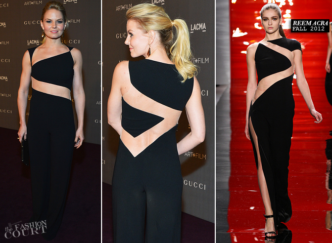 Jennifer Morrison in Reem Acra | LACMA 2012 Art + Film Gala