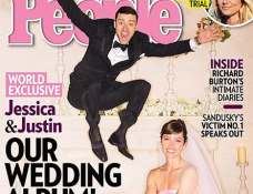 Justin Timberlake and Jessica Biel Get Married in Giambattista Valli & Tom Ford!