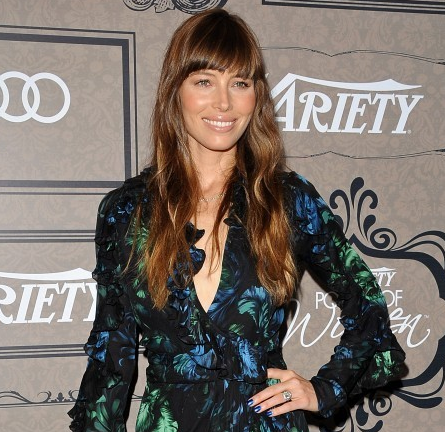 Jessica Biel in Gucci   Variety's 4th Annual Power Of Women Event