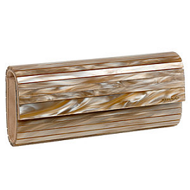 Jimmy Choo SWEETIE Pleated Clutch