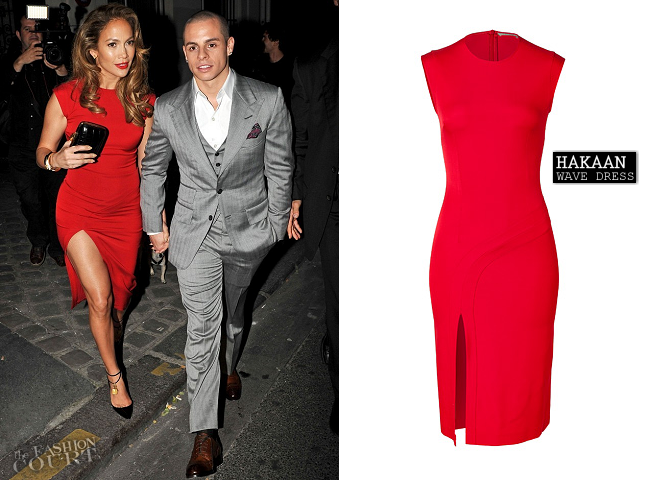 Jennifer Lopez in Hakaan | Obama Victory Fundraiser Event 2012: Paris