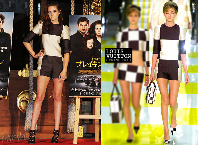 Kristen Stewart in Louis Vuitton | 'The Twilight Saga: Breaking Dawn - Part 2' Tokyo Fan Event