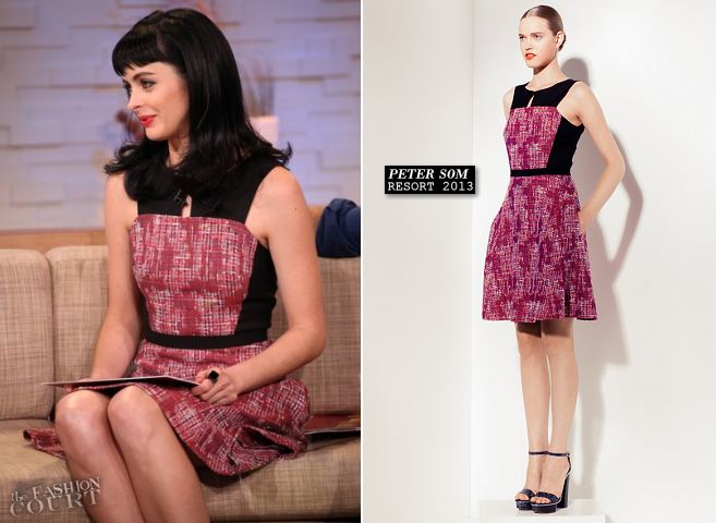 Krysten Ritter in Peter Som | Good Morning America