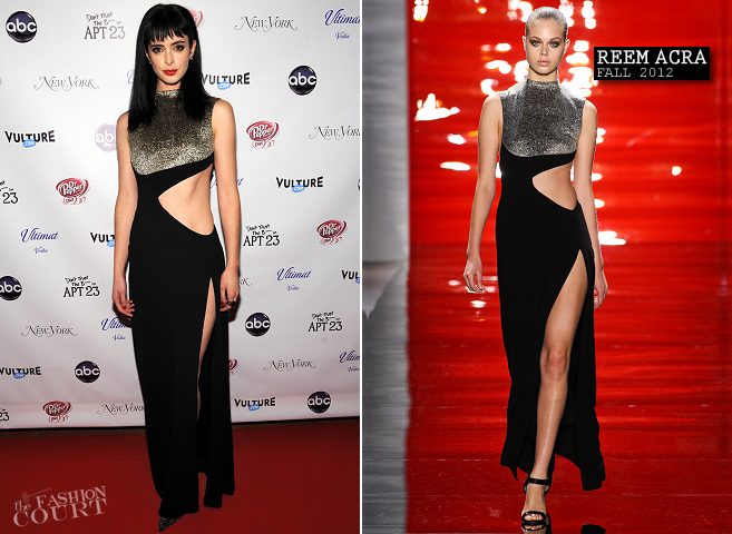 Krysten Ritter in Reem Acra | 'Don't Trust The B---- In Apt 23' Premiere Party