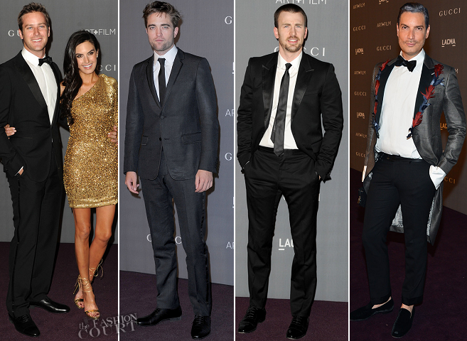 LACMA 2012 Art + Film Gala: Best Dressed Men
