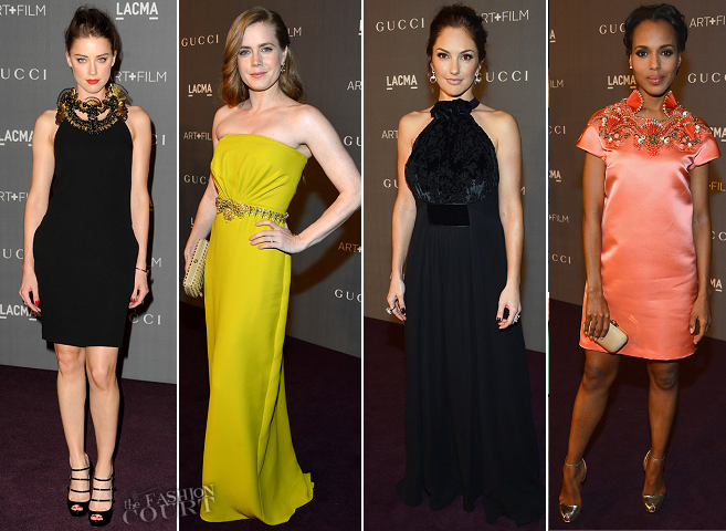 LACMA 2012 Art + Film Gala: The Ladies Love Gucci!