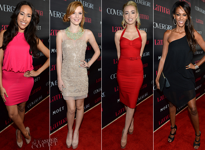 The Red Carpet Heats Up for Latina Magazine's 'Latinos In Hollywood' Party!