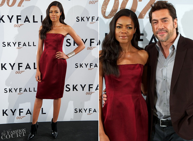 Naomie Harris in Lanvin | 'Skyfall' Madrid Photocall