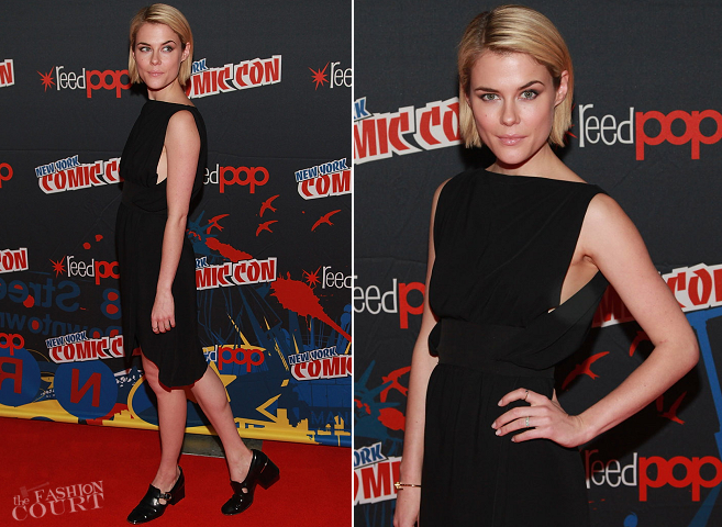 Rachael Taylor in Balenciaga | 2012 New York Comic Con - Day 3: '666 Park Avenue' Panel