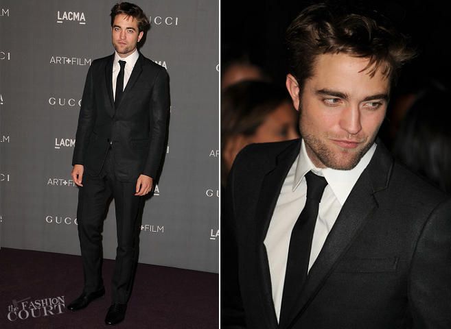 Robert Pattinson in Gucci | LACMA 2012 Art + Film Gala
