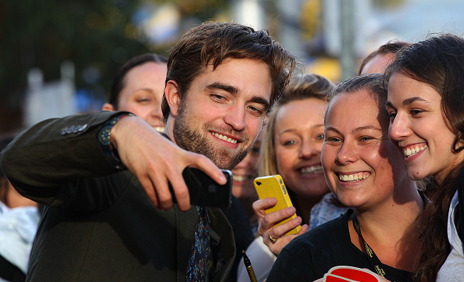 Robert Pattinson in Kenzo | 'The Twilight Saga: Breaking Dawn - Part 2' Australian Fan Event