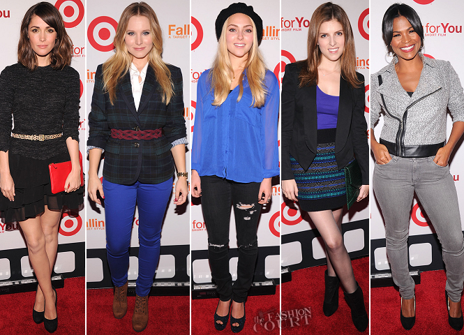 Right on Target: The 'Falling For You' Event Red Carpet Report!