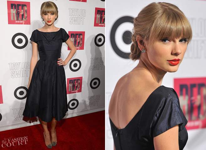 Taylor Swift in Vintage | Target 'RED' Deluxe Edition CD Release Launch Party
