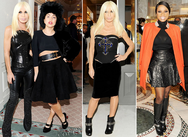 Donatella Versace & Friends Celebrate the Versace SoHo Store Opening!