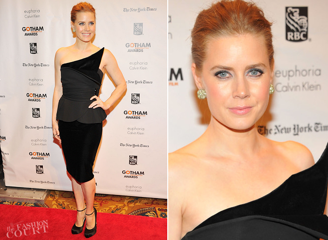 Amy Adams in Giorgio Armani | Gotham Independent Film Awards 2012