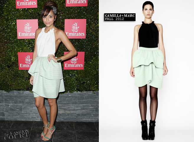 Ashley Madekwe in Camilla + Marc | Melbourne Cup 2012