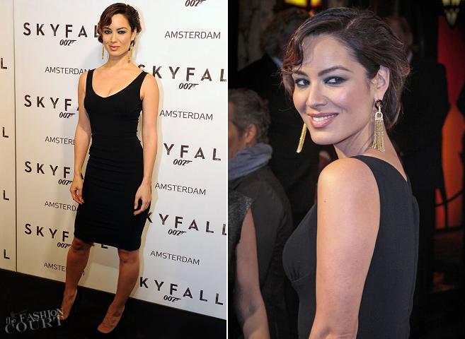 Bèrènice Marlohe in Dolce & Gabbana | 'Skyfall' Amsterdam Premiere