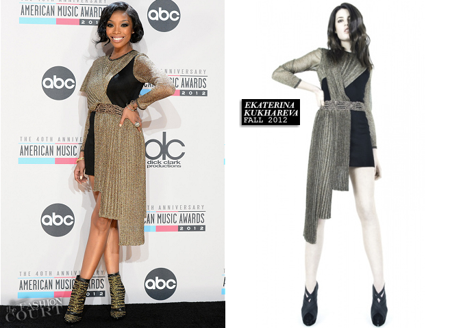 Brandy in Ekaterina Kukhareva | 2012 American Music Awards