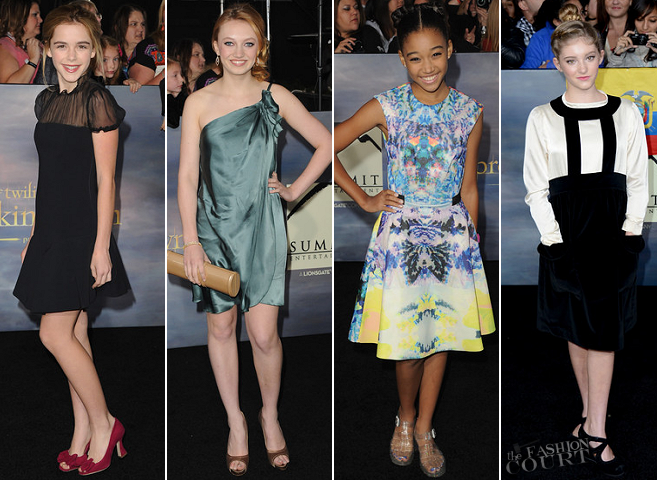"Twilight's Many Hollywood Fans Hit the Black Carpet for the ""Breaking Dawn - Part 2"" LA Premiere!"