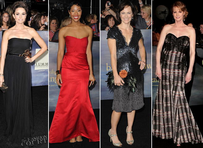 The Ladies of 'The Twilight Saga: Breaking Dawn - Part 2' LA Premiere