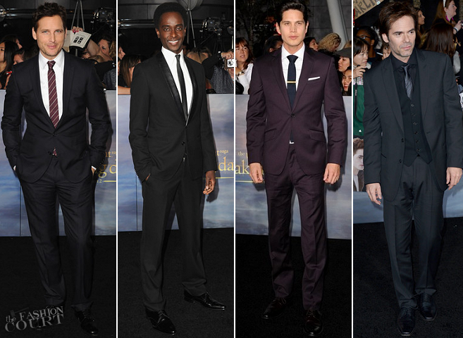 The Men of 'The Twilight Saga: Breaking Dawn - Part 2' LA Premiere