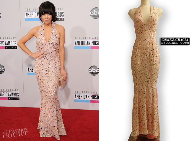 Carly Rae Jepsen in Gomez-Gracia | 2012 American Music Awards