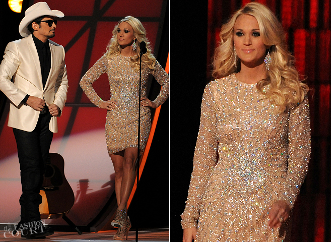 CMAS 2012: See All of Carrie Underwood's 11 Dresses!