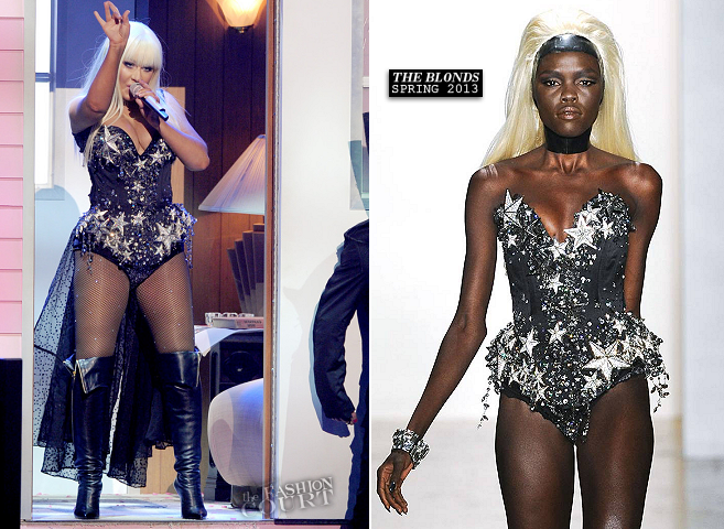Christina Aguilera in The Blonds | 2012 American Music Awards