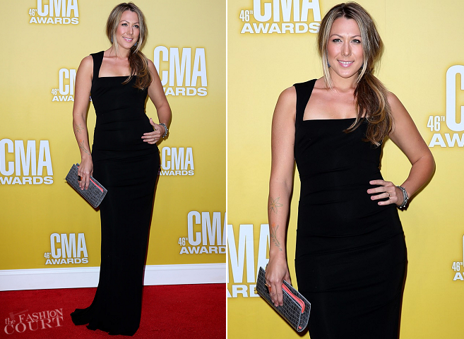 Colbie Caillat in Nicole Miller | CMA Awards 2012