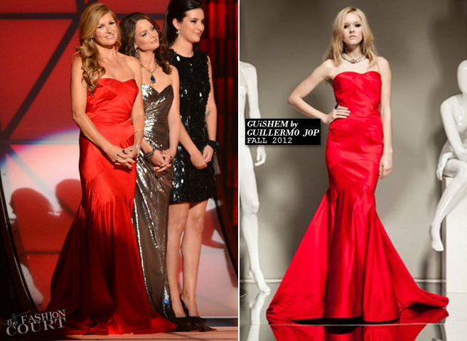 Connie Britton in GUiSHEM | CMA Awards 2012
