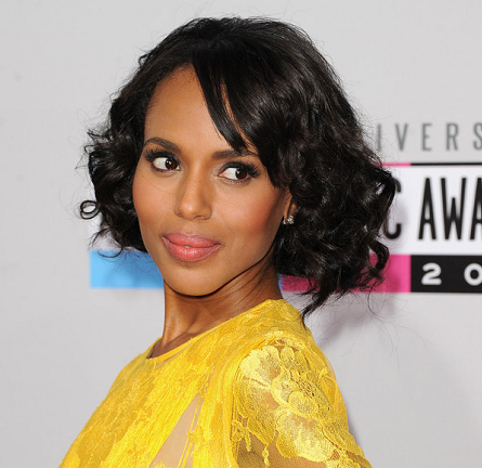 2012 AMAs Beauty: Get Kerry Washington's Sassy Faux Bob!