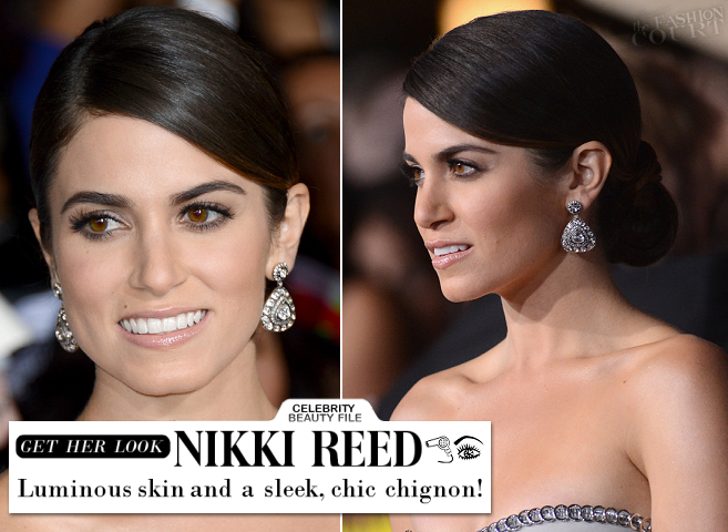 Twilight Beauty: Get Nikki Reed's Luminous Skin & Chic Chignon at the 'Breaking Dawn - Part 2' Premiere!