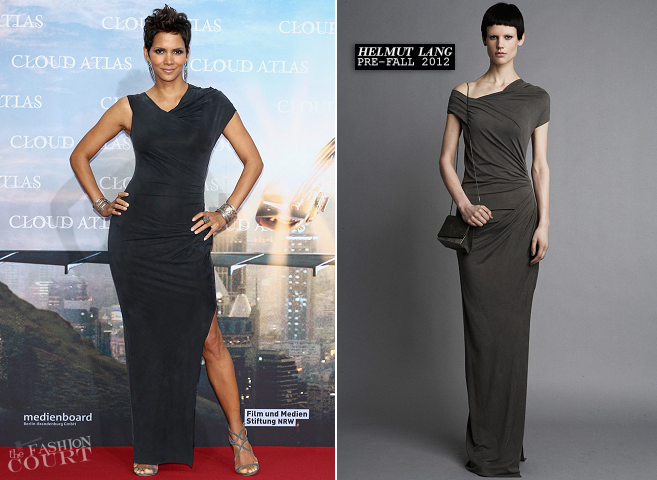 Halle Berry in Helmut Lang | 'Cloud Atlas' Berlin Premiere
