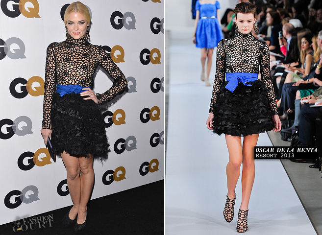 Jaime King in Oscar de la Renta | GQ Men of the Year Party 2012