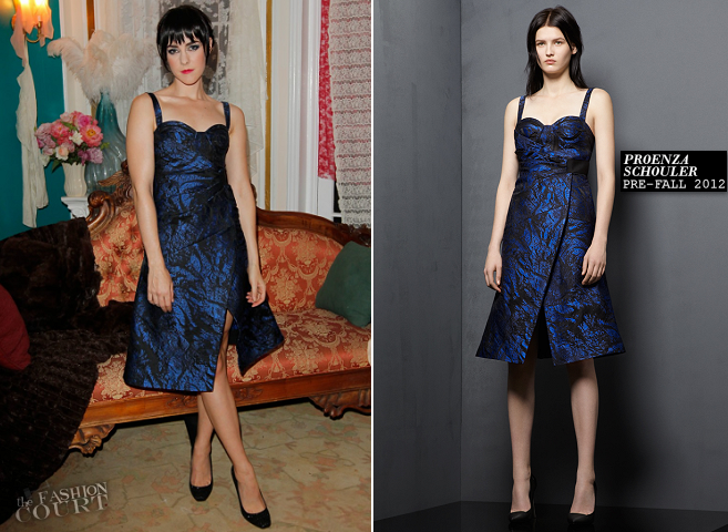 Jena Malone in Proenza Schouler | 'The Painted Lady': Presented by MAC Cosmetics