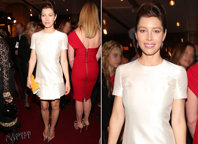 Jessica Biel in Michael Kors | 'Hitchcock' Beverly Hills Premiere After Party