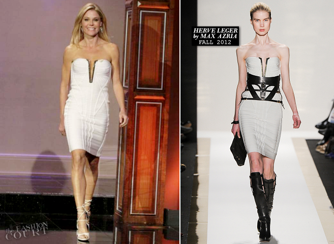 Julie Bowen in Herve Leger | 'The Tonight Show with Jay Leno'