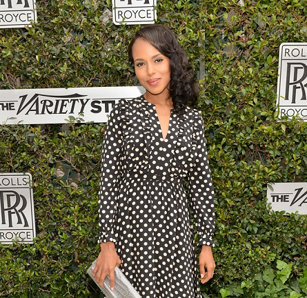 Kerry Washington in Kate Spade | Variety Awards Studio