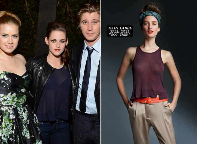 Kristen Stewart in Balenciaga & KAIN LABEL | 'On The Road' Gala Screening: AFI Fest 2012 - After Party