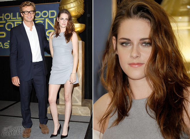 Kristen Stewart in Bec & Bridge | Hollywood Foreign Press Association's Cecil B. DeMille Award Announcement