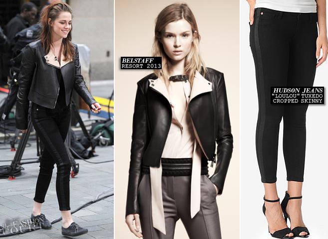 Kristen Stewart in Belstaff & Hudson Jeans | NBC's Today Show
