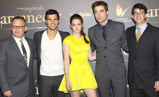 Kristen Stewart in Christian Dior | 'The Twilight Saga: Breaking Dawn - Part 2' Madrid Premiere