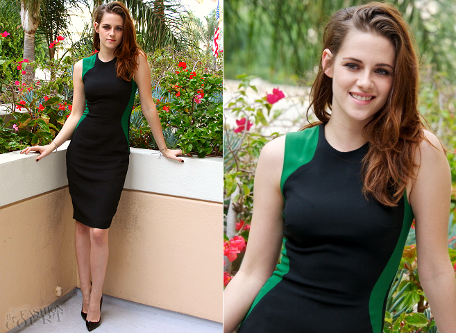Kristen Stewart in Stella McCartney | HFPA LA Press Conference