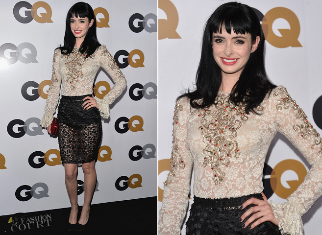 Krysten Ritter in Dolce & Gabbana | GQ Men of the Year Party 2012
