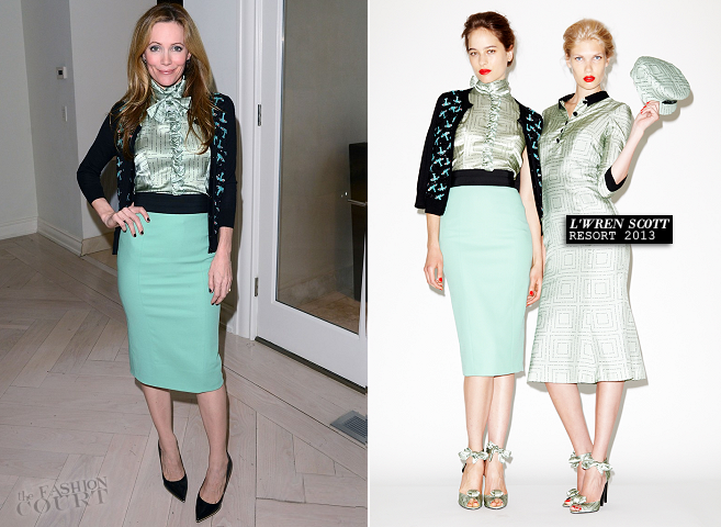 Leslie Mann in L'Wren Scott | Variety Awards Studio