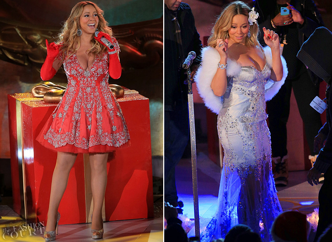 Mariah Carey in PAVONI | NBC's Christmas Tree Lighting
